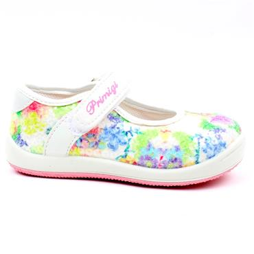 PRIMIGI 5351800 JUNIOR SHOE - WHITE MULTI