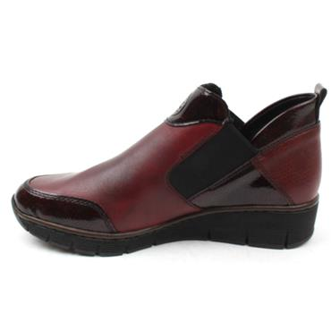 RIEKER 53786 ANKLE BOOT - BURGUNDY