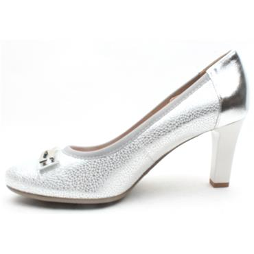 BIOECO 5402 COURT SHOE - SILVER
