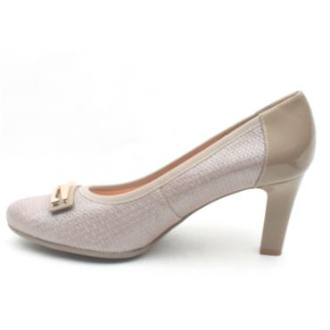 BIOECO 5402 COURT SHOE - TAUPE