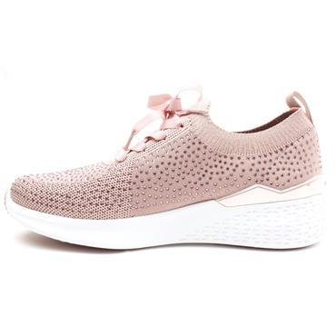 JENNY BY ARA 54510 LACE SHOE - BLUSH