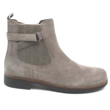 GABOR 54670 FLAT BOOT - TAUPE