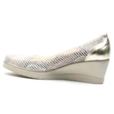 PITILLOS 5521 WEDGE SHOE - GOLD