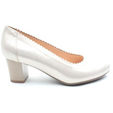 BIOECO 5527 COURT SHOE - GOLD