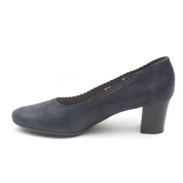 BIOECO 5527 COURT SHOE - NAVY