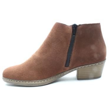 RIEKER 55551 ANKLE BOOT - Tan