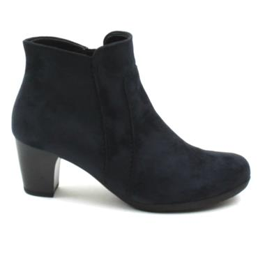 GABOR 55800 ANKLE BOOT - NAVY