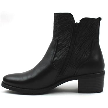 BUGATTI 5623G ANKLE BOOT - Black