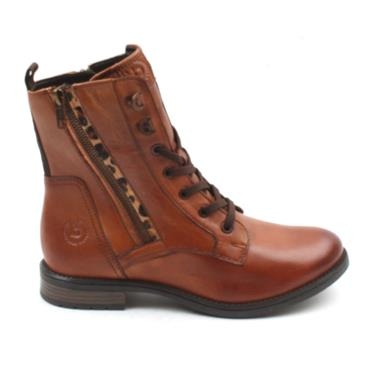 5693O BUGATTI LADIES BOOT - TAN
