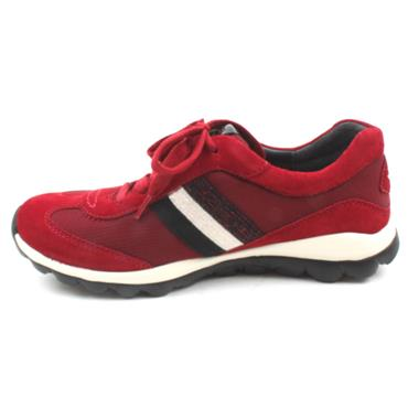 GABOR 56966 LACED SHOE - RED MULTI