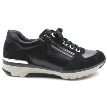 GABOR 56973 LACED SHOE - NAVY