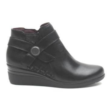 PITILLOS 5727 WEDGE BOOT - Black