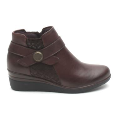 PITILLOS 5727 WEDGE BOOT - BROWN