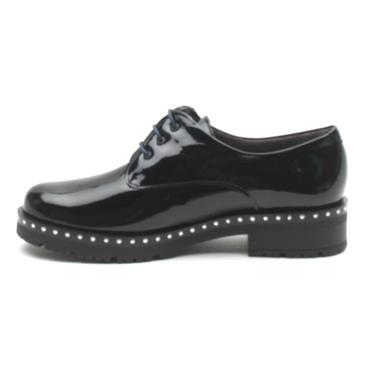 PITILLOS 5810 LACED SHOE - NAVY PATENT
