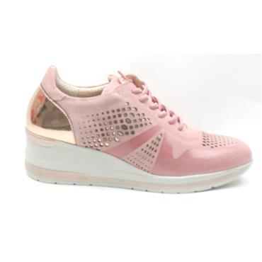 PITILLOS 6111 LACED SHOE - PINK