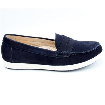 GABOR 62464 LOAFER SHOE - BLUE