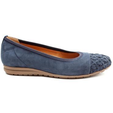 GABOR 62623 POMP SHOE - BLUE