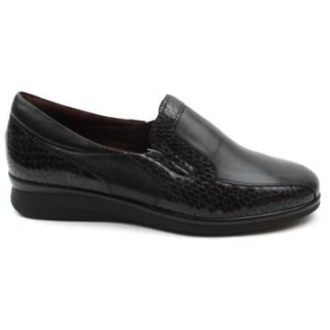PITILLOS 6302 SLIP ON SHOE - Black