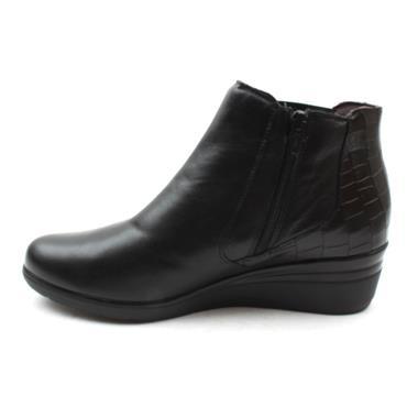 PITILLOS 6326 WEDGE BOOT - Black