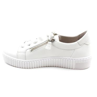 GABOR 63334 LACED SHOE - WHITE