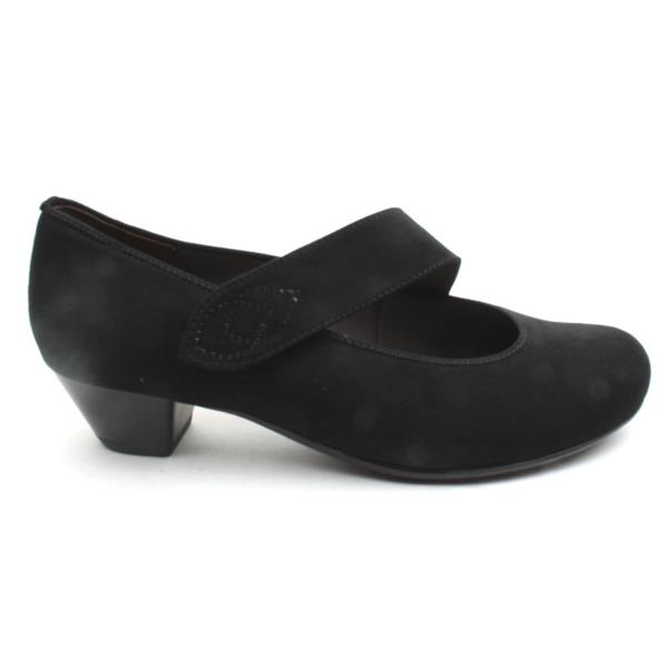 Jenny By Ara 63615 Strap Shoe Black