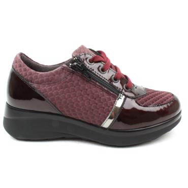 PITILLOS 6460 LACED SHOE - BURGUNDY