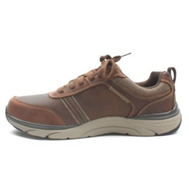 SKECHERS 66293 SENTINAL SHOE - TAN
