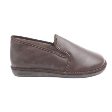 NORDIKA MENS 663 SLIPPER - BROWN
