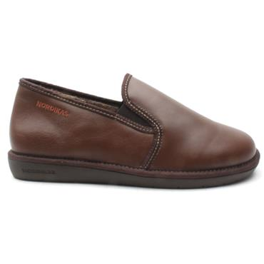 NORDIKA MENS 663 SLIPPER - Tan