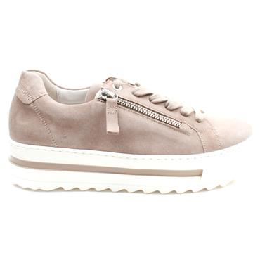 GABOR 66498 LACED SHOE - TAUPE