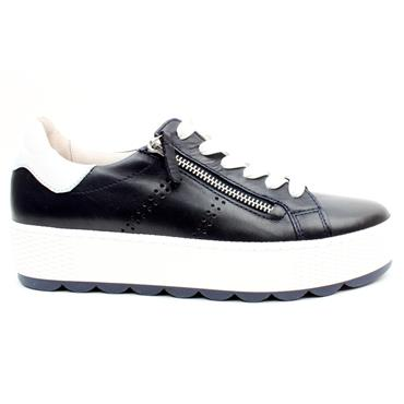 GABOR 66538 LACED SHOE - NAVY