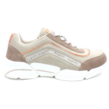 BUGATTI 66805 LACED RUNNER - BEIGE MULTI