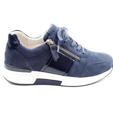 GABOR 66928 LACED CASUAL SHOE - NAVY