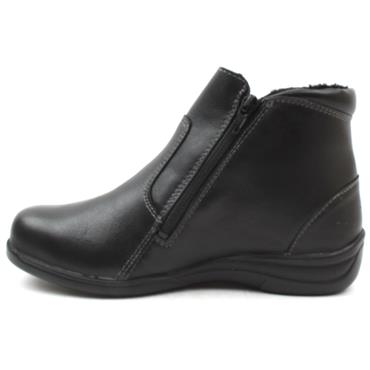 DB 68163SANDBACH ZIP WIDE FIT BOOT - Black