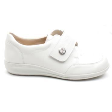 EASY B STRAP SHOE 68182ROYSTON - WHITE