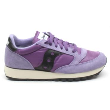 SAUCONY 70368 JAZZ LACED - BLACK/PURPLE