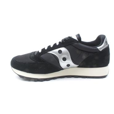 SAUCONY 70368 JAZZ LACED - BLACK/WHITE