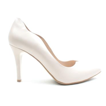 EMIS 7053 154 COURT SHOE - BEIGE