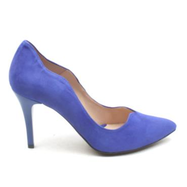 EMIS 7053 154 COURT SHOE - BLUE