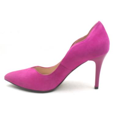 EMIS 7053 154 COURT SHOE - FUSHSIA