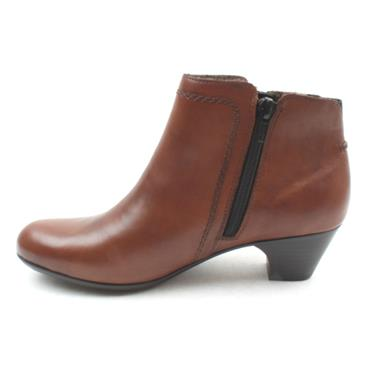 RIEKER 70551 ANKLE BOOT - CHESTNUT