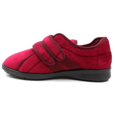 DBS EUNICE71026 SLIPPERS - BURGUNDY