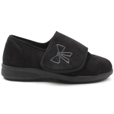 DB 71556 KEESTON STRAP SLIPPER - Black