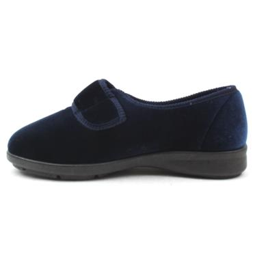 EASY B SLIPPER NELLIE - NAVY