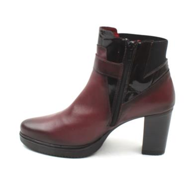 JOSE SAENZ 7184 ANKLE BOOT - BURGUNDY