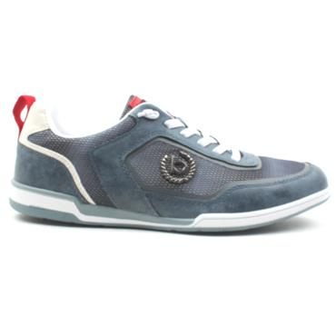 BUGATTI 72602 LACED SHOE - NAVY