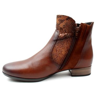 GABOR 72713 ANKLE BOOT - TAN LEATHER