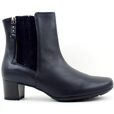GABOR 72821 ANKLE BOOT - NAVY MULTI