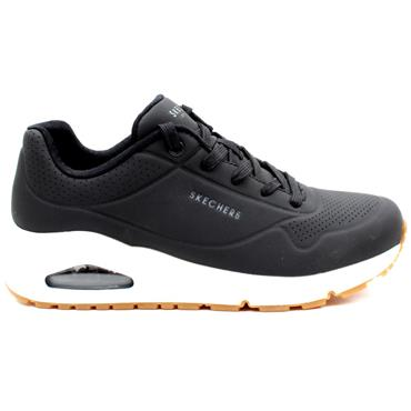 SKECHERS 73690 LACED SHOE - Black