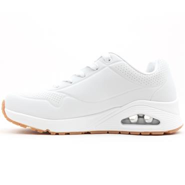 SKECHERS 73690 LACED SHOE - WHITE